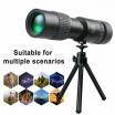 4K Super Μονόκυαλο 10-300X40mm Telephoto Zoom Telescope Portable με holder τηλεφώνου και τρίποδο