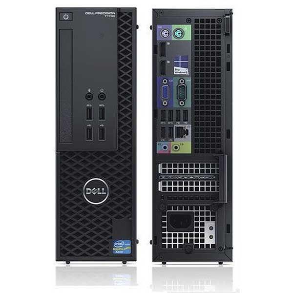 DELL Precision T1700 SFF Intel Quad i7-4770 3.4GHz, 8GB, SSD + HDD, nVidia, DVD-RW, Refurbished PC