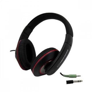 Ακουστικά Stereo Headphones Esperanza EH121 με καλώδιο 5 μέτρα αναδιπλούμενο