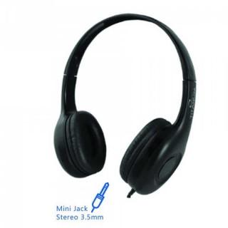 Ακουστικά με μικρόφωνο handsfree Esperanza Titanum Liwa TH114 μαύρο 4pin