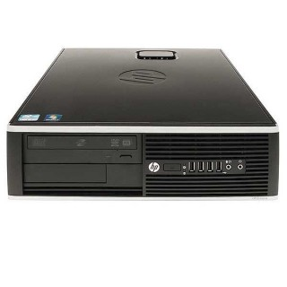HP Compaq Elite 8200 SFF Intel Core i5-2400, 8GB, SSD + HDD, DVD, Refurbished PC