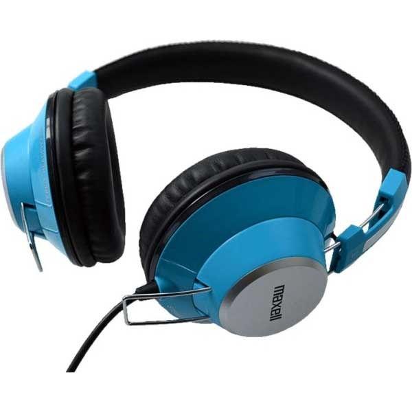 Maxell Retro Dj Colour Stereo ακουστικά blue pink