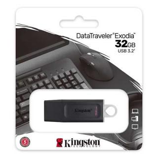 Kingston USB Flash Drive Data Traveller Exodia 32GB USB 3.2 Black