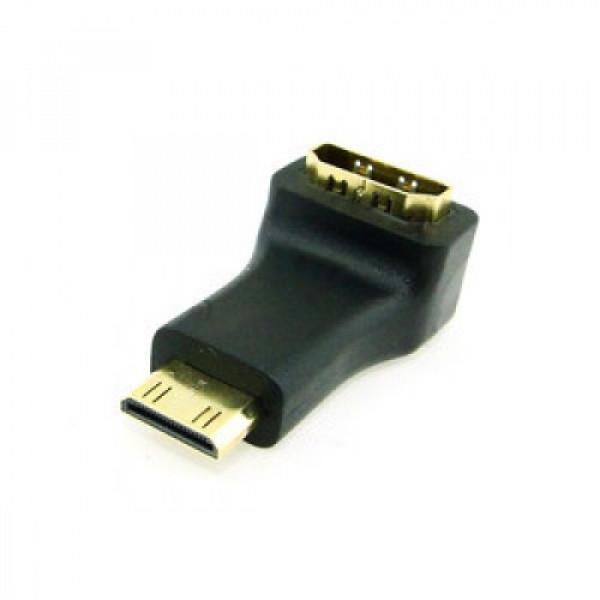 HDMI αρσενικό σε HDMI θηλυκό σε Γωνία 90μοιρών Type A