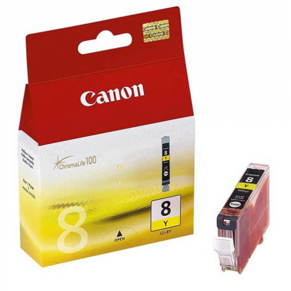 Canon CLI-8Y Yellow Ink Cartridge (0623B001) Genuine