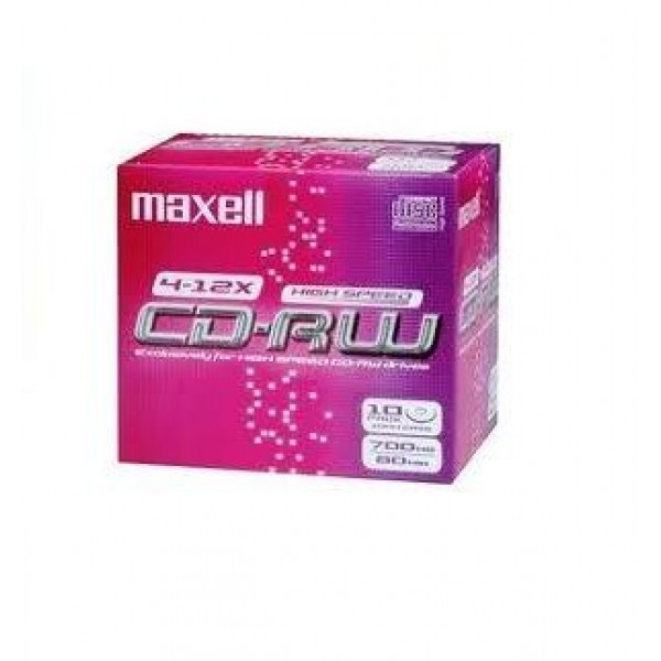 CD-RW Maxell 80min 700MB 4-12x επανεγγραφής 630025