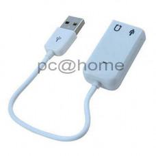 Κάρτα ήχου Εξωτερική USB 2.0 (3D Virtual Sound 7.1)